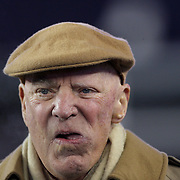 FOXBOROUGH, MASSACHUSETTS - JANUARY 14:  Houston Texans owner Bob McNair on the sideline before the Houston Texans Vs New England Patriots Divisional round game during the NFL play-offs on January 14th, 2017 at Gillette Stadium, Foxborough, Massachusetts. (Photo by Tim Clayton/Corbis via Getty Images)
