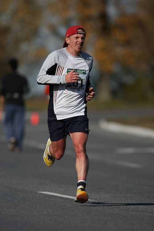 (Ottawa, ON---18 October 2008) DEAN STROWBRIDGE competes in the 2008 TransCanada 10km Canadian Road Race Championships. Photograph copyright Sean Burges/Mundo Sport Images (www.msievents.com).