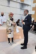 CECILE MATTEUCCI, GIAMPIERO BODINO , Dubuffet opening, Palazzo Franchetti, Biennale, Venice, 9 May 2019