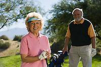 Smiling Golfers
