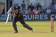 Mark Cosgrove batting during the Vitality T20 Blast North Group match between Leicestershire Foxes and Notts Outlaws at the Fischer County Ground, Grace Road, Leicester, United Kingdom on 23 August 2019.