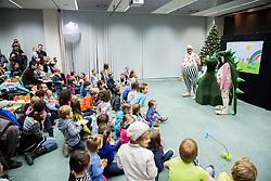Dedek Mraz na obisku v Tehnoloskem parku Ljubljana, on December 17, 2015 in Ljubljana, Slovenia. Photo by Vid Ponikvar / Sportida