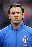 Fotball<br /> VM-kvalifisering <br /> Norge v Italia 0-0 / Norway v Italy<br /> 04.06.2005<br /> Foto: Morten Olsen, Digitalsport<br /> <br /> Antoni Cassano - Roma
