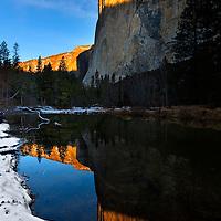El Capitan and the Merced River 7-25 AM
