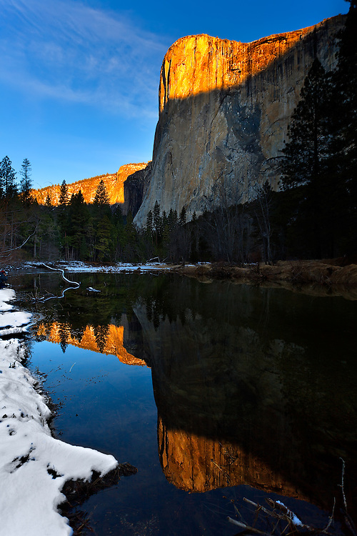 El Capitan and the Merced River 7-25 AM