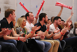 - Photo mandatory by-line: Joe Meredith/JMP - Mobile: 07966 386802 - 11/04/2015 - SPORT - Basketball - Bristol - SGS Wise Campus - Bristol Flyers v Glasgow Rocks - British Basketball League