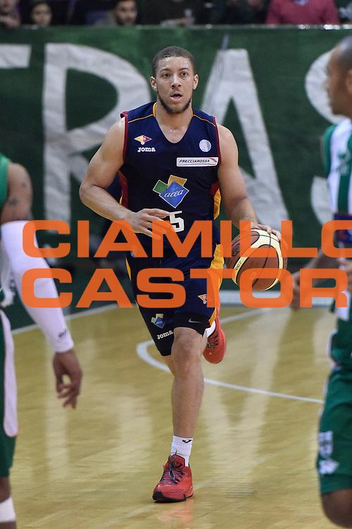 DESCRIZIONE : Campionato 2014/15 Sidigas Scandone Avellino - Virtus Acea Roma<br /> GIOCATORE : Brandon Triche<br /> CATEGORIA : Palleggio<br /> SQUADRA : Virtus Acea Roma<br /> EVENTO : LegaBasket Serie A Beko 2014/2015<br /> GARA : Sidigas Scandone Avellino - Virtus Acea Roma<br /> DATA : 13/12/2014<br /> SPORT : Pallacanestro <br /> AUTORE : Agenzia Ciamillo-Castoria / GiulioCiamillo<br /> Galleria : LegaBasket Serie A Beko 2014/2015<br /> Fotonotizia : Campionato 2014/15 Sidigas Scandone Avellino - Virtus Acea Roma<br /> Predefinita :Predefinita :