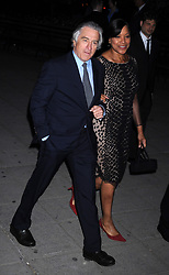 NEW YORK, NY - APRIL 17:  Robert De Niro_Grace Hightower attends the Vanity Fair Party during the 2012 Tribeca Film Festival at the State Supreme Courthouse on April 17, 2012 in New York City..People:  Robert De Niro_Grace Hightower. (Credit Image: © SMG via ZUMA Wire)
