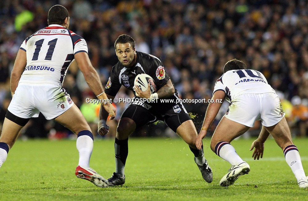 Warriors prop Evarn Tuimavave.<br />