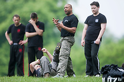 Krav Maga seminar in Kelvingove Park, Glasgow, by the Institute of Krav Maga Scotland. The seminar shows Krav Maga in real life type situations.