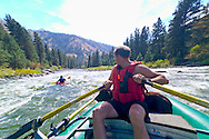 Whitewater rafting on the Payette River near Boise, Idaho.
