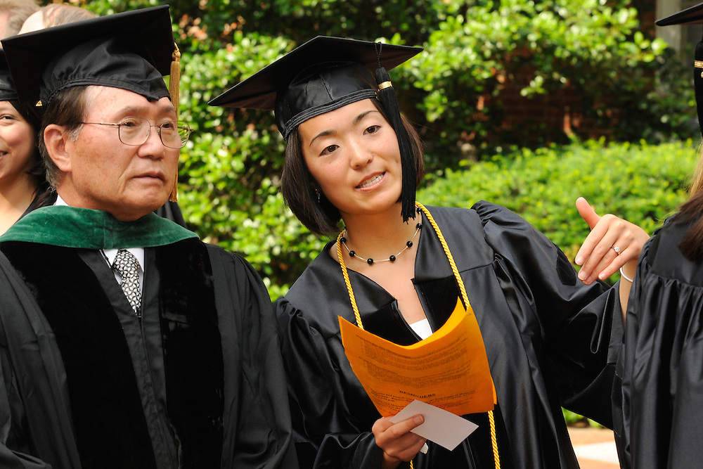 Amy Miyhoshi, D. O., with mentor Yong Song, M. D.