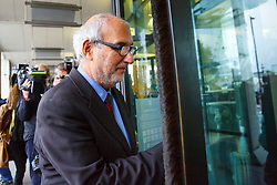 © Licensed to London News Pictures. 15/10/2015. London, UK. Alan Yentob arriving at Portcullis House to give evidence on Kids Company to the Commons Public Administration Committee in London on Thursday, 15 October 2015. Photo credit: Tolga Akmen/LNP