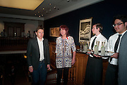 JANET STREET-PORTER, The Lighthouse Gala auction in aid of the Terrence Higgins Trust. Christies. London. 19 March 2012.