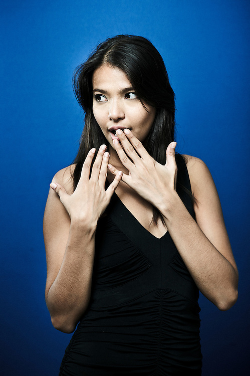 CANNES, FRANCE. MAY 17, 2011. Busong's Actress Alessandra de Rossi at the Cannes Film Festival. (Photo: Antoine Doyen)