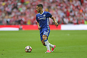 Chelsea's Eden Hazard(10) on the ball during the The FA Cup final match between Arsenal and Chelsea at Wembley Stadium, London, England on 27 May 2017. Photo by Shane Healey.
