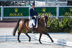 Frank Hosmar, (NED), Alphaville - Team Competition Grade IV Para Dressage - Alltech FEI World Equestrian Games™ 2014 - Normandy, France.<br /> © Hippo Foto Team - Jon Stroud <br /> 25/06/14
