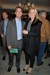 JAKE & SOPHIE IRWIN at a party hosted by Ewan Venters CEO of Fortnum & Mason to celebrate the launch of The Cook Book by Tom Parker Bowles held at Fortnum & Mason, 181 Piccadilly, London on 18th October 2016.