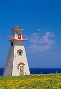 Cape Tryon Lighthouse<br /> Cape Tryon <br /> Prince Edward Island<br /> Canada