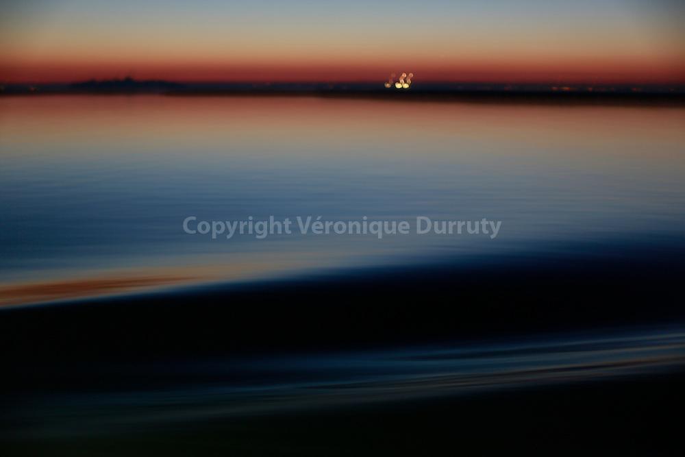 la lagune de Venise au large de l'ile de Burano, Italie // Laguna of Venice near Burano island, Italy