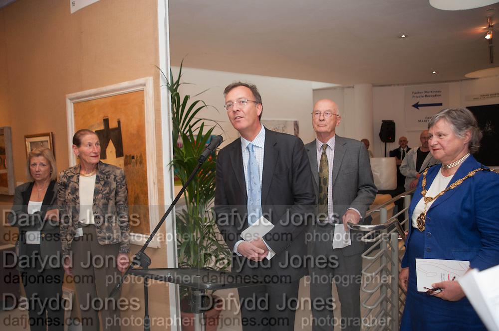 PAUL THOMPSON, 20/21 British Art Fair. Celebrating its 25 Anniversary. The Royal College of Art . Kensington Gore. London. 12 September 2012.