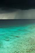 Storm over Ocean<br /> Western BONAIRE, Netherlands Antilles, Caribbean