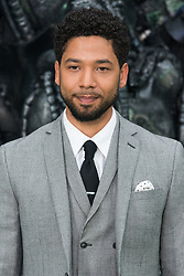 © Licensed to London News Pictures. 04/05/2017. London, UK. JUSSIE SMOLLETT attends the Alien: Covenant world film premiere. Photo credit: Ray Tang/LNP