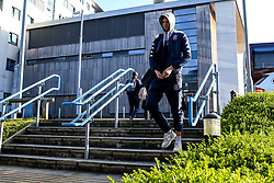 Mike Vigor of Bristol Flyers arrives at London Lions - Photo mandatory by-line: Robbie Stephenson/JMP - 10/04/2019 - BASKETBALL - UEL Sports Dock - London, England - London Lions v Bristol Flyers - British Basketball League Championship