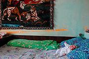 indoor scene with baby