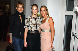 Left to right, SAFFRON ALDRIDGE, LADY GABRIELLA WINDSOR and INDIA HICKS at a party to celebrate the launch of India Hick's 'Island Living' range of frangrance and beauty products in association with Crabtree & Evelyn held at The Hempel, Craven Hill Gardens, London on 22nd November 2006.<br /><br />NON EXCLUSIVE - WORLD RIGHTS