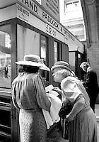 Two ladies, Ascot, UK