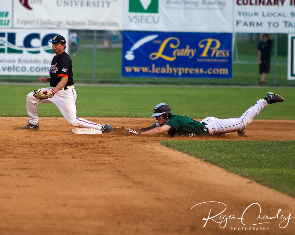 Vermont Mountaineers defeat Newport Gulls 8-1 at Montpelier Recreation Field. Vermont is in first place in the Northern Division over Sanford by a half game.