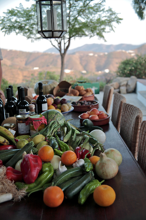 Local organic produce, El Carligto, Andalucia, Spain