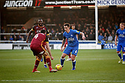 Peterborough United's Jamie Walker (6) on the attack during the EFL Sky Bet League 1 match between Peterborough United and Bradford City at The Abax Stadium, Peterborough, England on 17 November 2018.
