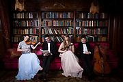 Irish folk band Strung photographed by Dan Butler Photography in Dublin, Ireland.