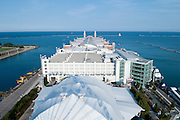 The Navy Pier in Chicago as seen from the Ferris Wheel. Missoula Photographer