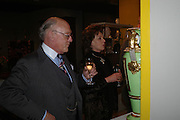 Mr. and Mrs. Giles Shepherd. BADA Antiques & Fine Art Fair - gala evening <br />