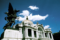 Mexico: Mexico City..Palace of Fine Arts..Photo copyright Lee Foster, www.fostertravel.com..Photo #: mxmexi104, 510/549-2202, lee@fostertravel.com