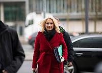 DEU, Deutschland, Germany, Berlin,03.02.2018: Manuela Schwesig (SPD) kommt zu den Koalitionsverhandlungen zwischen CDU/CSU und SPD im Konrad-Adenauer-Haus.