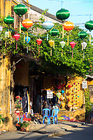 Colourful lanterns are a highlight of a visit to the old town of Hoi An, Vietnam
