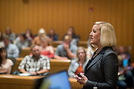 Susanne Wasson<br /> US Commercial Leader for Dow AgroSciences.<br /> Alum of OSU speaks to students and faculty as part of the OSU Leadership Forum.