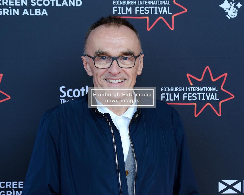 Edinburgh International Film Festival 2019<br /> <br /> Yesterday (Scottish Premiere)<br /> <br /> Stars and guests arrive on the red carpet for Danny Boyle's latest movie<br /> <br /> Pictured: Danny Boyle<br /> <br /> Aimee Todd | Edinburgh Elite media