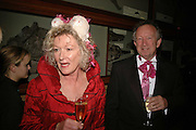 Mary Fraher and Doug Dew, The Blush Ball, Natural History Museum, London<br />Breast Cancer Haven trust charity evening for the construction of a third Haven in North England. ONE TIME USE ONLY - DO NOT ARCHIVE  © Copyright Photograph by Dafydd Jones 66 Stockwell Park Rd. London SW9 0DA Tel 020 7733 0108 www.dafjones.com