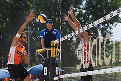 09-06-2016 DUI: Smart Major Beach Volleyball World Tour, Hamburg<br /> Reinder Nummerdor #1<br /> <br /> ***NETHERLANDS ONLY***