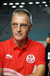 Oct. 13, 2013 - Tunis, Tunisia - Coach Ruud Krol Team of Tunisia during the match  Elimination match of the FIFA World Cup Brazil 2014 between Tunisia and Cameroon at Rades Stadium in Tunis, which ended with the result 0/0. (Credit Image: © Chokri Mahjoub/ZUMAPRESS.com)