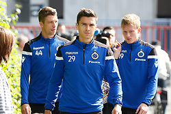 August 16, 2017 - Brugge, BELGIUM - Club's Dorin Rotariu arrives for a training session of Belgian soccer team Club Brugge KSV, Wednesday 16 August 2017 in Brugge. The team is preparing for tomorrow's game against Greek club AEK Athens F.C., the first leg of the first playoff round for the UEFA Europa League competition. BELGA PHOTO BRUNO FAHY (Credit Image: © Bruno Fahy/Belga via ZUMA Press)