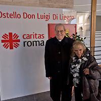 """Inaugurato l'Ostello  """"Don Luigi Di Liegro"""" della Caritas Diocesana di Roma"""