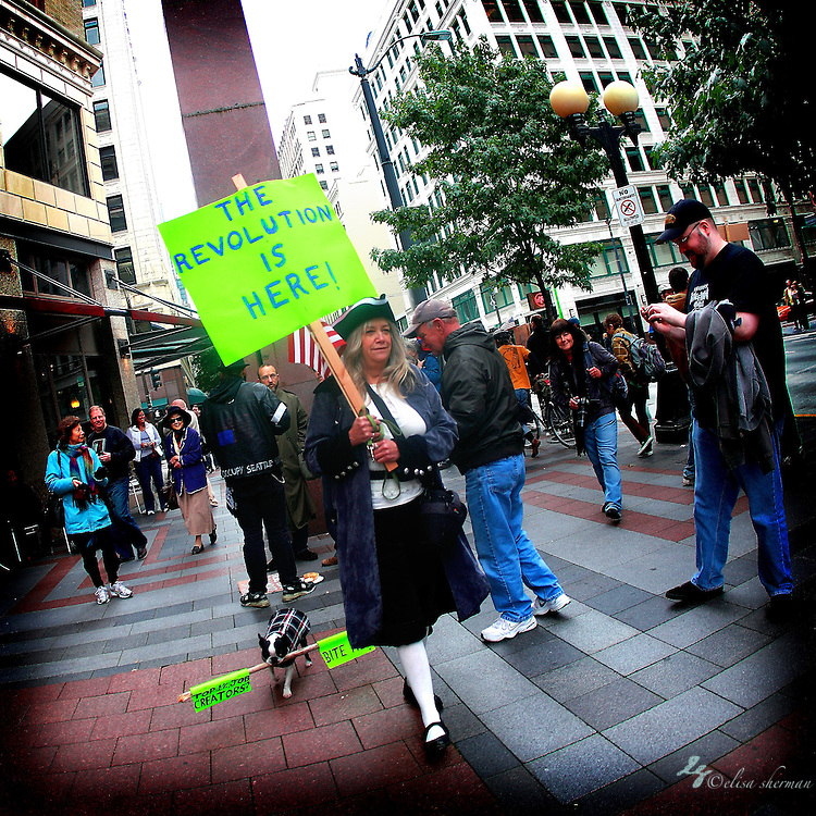 Occupy Seattle at Westlake Park 10-15-2011