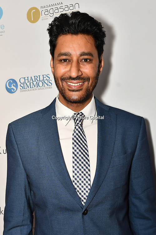 Harbhajan Mann is a singer attend the BritAsiaTV Presents Kuflink Punjabi Film Awards 2019 at Grosvenor House, Park Lane, London,United Kingdom. 30 March 2019
