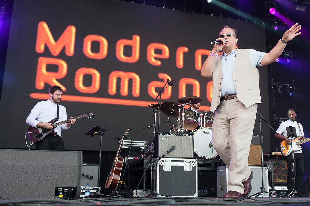 Modern Romance in concert at Lets Rock Scotland, Dalkeith Country Park, Edinburgh, Great Britain 23rd June 2018